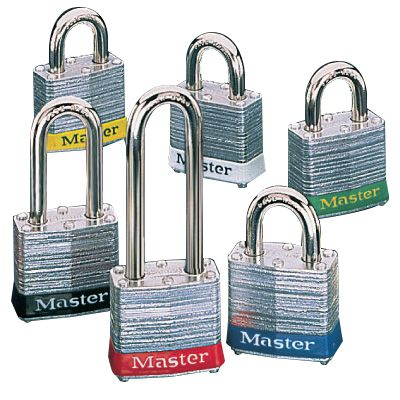 Master Lock® Keyed Alike Steel Padlock Set