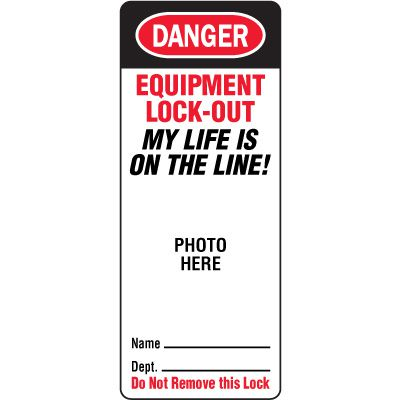EZ-Photo Padlock Replacement Labels