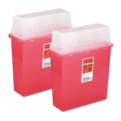 Medline® Sharps Container - Patient Room