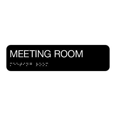 Meeting Room - Standard Worded Braille Signs