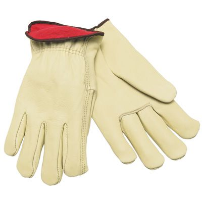 MCR Memphis® Red Fleece Insulated Driver Gloves