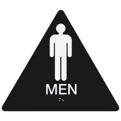Men - California Code Economy Restroom Signs