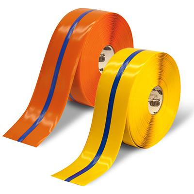 Mighty Line Safety Floor Tape - Striped