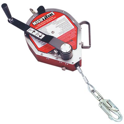Miller MightyEvac Self-Retracting Lifeline with Emergency Retrieval Hoist