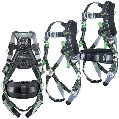 Miller® Revolution® Tower-Climbing Harnesses