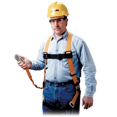 Miller® Titan™ Shock Absorbing Harness/Lanyard Combo TK4051Z7/U/6
