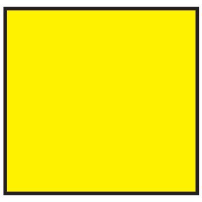 Brady 120862 MiniMark Label - Yellow