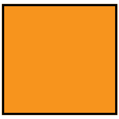 Brady 120866 MiniMark Label - Orange