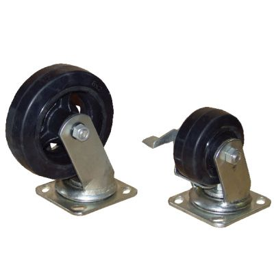 Mold-On-Rubber Casters