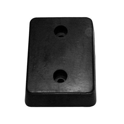 Molded Rubber Dock Bumper Guard - 13Hx10Wx4D