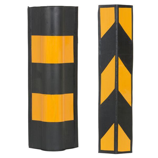 Molded Rubber Corner Protectors
