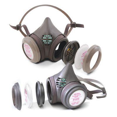 Moldex® 8000 Series P100 Complete Respirators