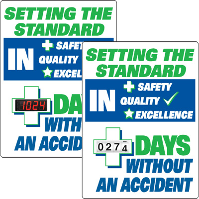 Motivational Safety Scoreboards - Setting The Standard