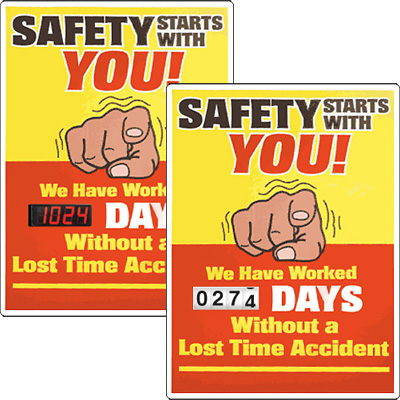 Motivational Safety Scoreboards - Safety Starts With You