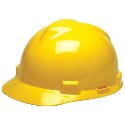 MSA V-Gard® Fas-Trac® Hard Hats
