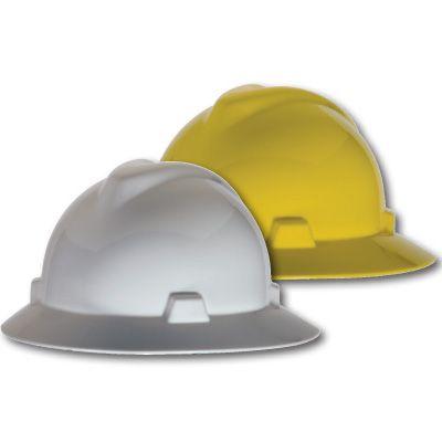 MSA V-Gard Standard Caps and Full Brim Hats