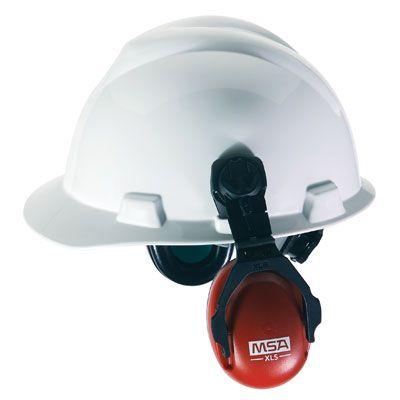 MSA XLS Cap Mounted Earmuff 10061535