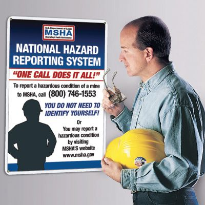 MSHA Whistleblower Poster