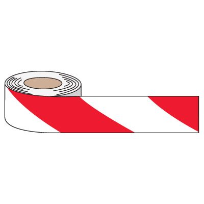 Striped Anti-Slip Tape - Red/White