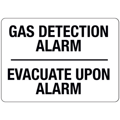 N-28 Gas Detection Alarm - Aluminum