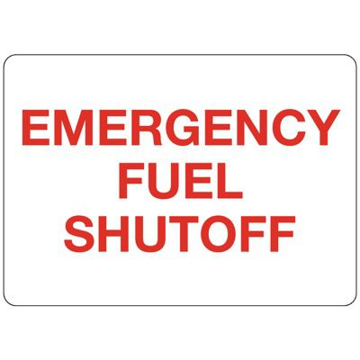 N-3 Emergency Fuel Shutoff - Aluminum