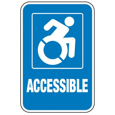 New York State Accessible Parking Signage