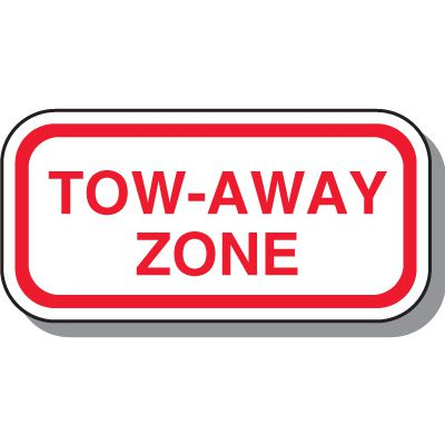 No Parking Signs - Tow-Away Zone