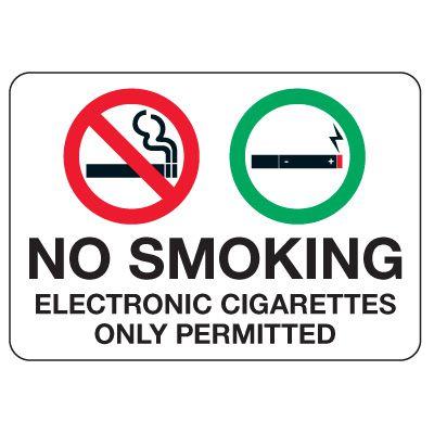 No Smoking Signs - No Smoking