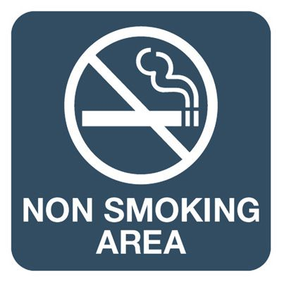 Non Smoking Area - Optima Office Policy Signs