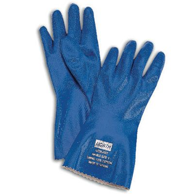 North Safety Nitri-Knit® Supported Nitrile Gloves