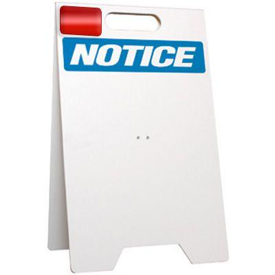 Notice - Floor Stand