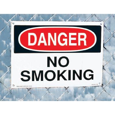 No Smoking Signs - Danger No Smoking