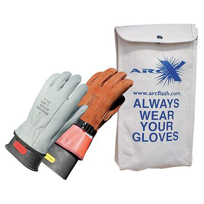 Oberon® Class 0 Insulated Rubber Electrical Gloves