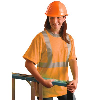 OccuLux® ANSI Class 2 Mesh T-Shirts LUX-SSTPC2-O