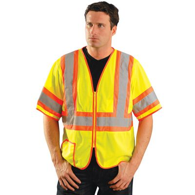 OccuLux® ANSI Class 3 Two-Tone Mesh Vest-Yellow-3XL LUX-HSCLC3Z-