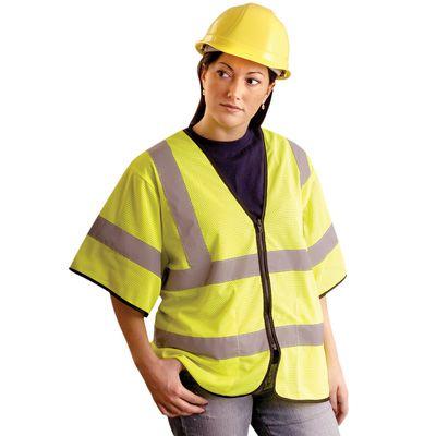 OccuNomix OccuLux® Class 3 Value Zipper-Front Vests