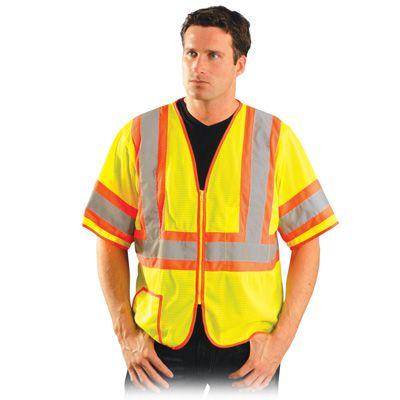 OccuNomix Classic Mesh Two-Tone Vest