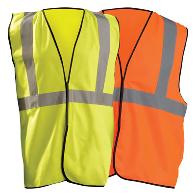 OccuNomix High Visibility Solid Safety Vests