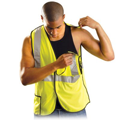 OccuNomix Premium Mesh Break-Away Vest