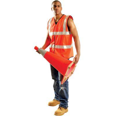 Occunomix Premium Solid Dual Stripe Vest