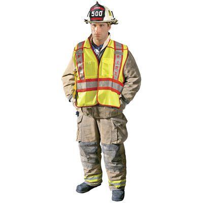 OccuNomix Premium Solid Public Safety Fire Vest LUX-PSF-M/L