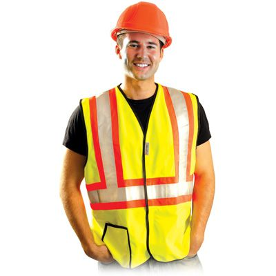 Occunomix Premium Solid Two-Tone Vest
