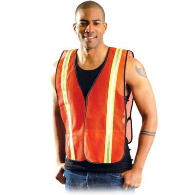 OccuNomix Value Mesh Two-Tone Surveyor Vest LUX-XTTMO4XL