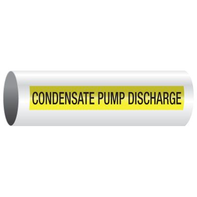 Opti-Code™ Pipe Markers - Condensate Pump Discharge