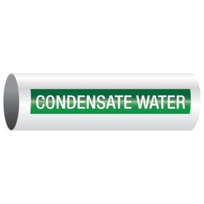 Opti-Code™ Pipe Markers - Condensate Water