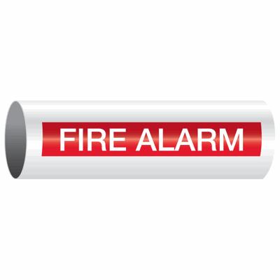 Opti-Code™ Self-Adhesive Pipe Markers - Fire Alarm