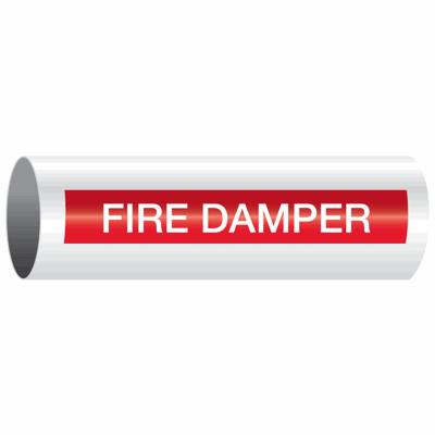 Opti-Code™ Self-Adhesive Pipe Markers - Fire Damper
