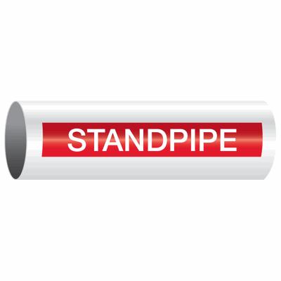 Opti-Code™ Self-Adhesive Pipe Markers - Standpipe