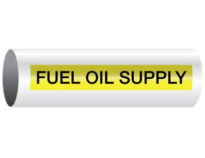 Fuel Oil Supply - Opti-Code® Pipe Markers