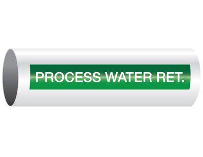 Process Water Return - Opti-Code® Pipe Markers
